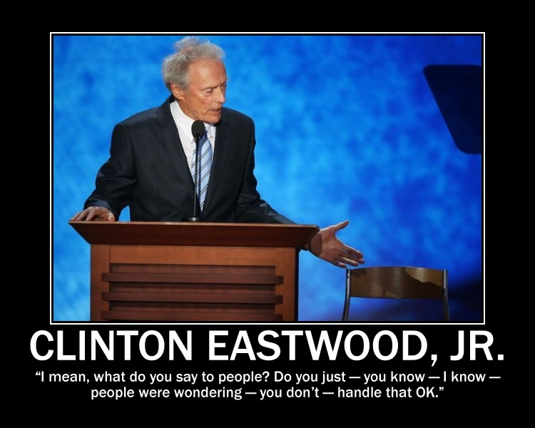 Clint Eastwood Quote | Spinny Liberal