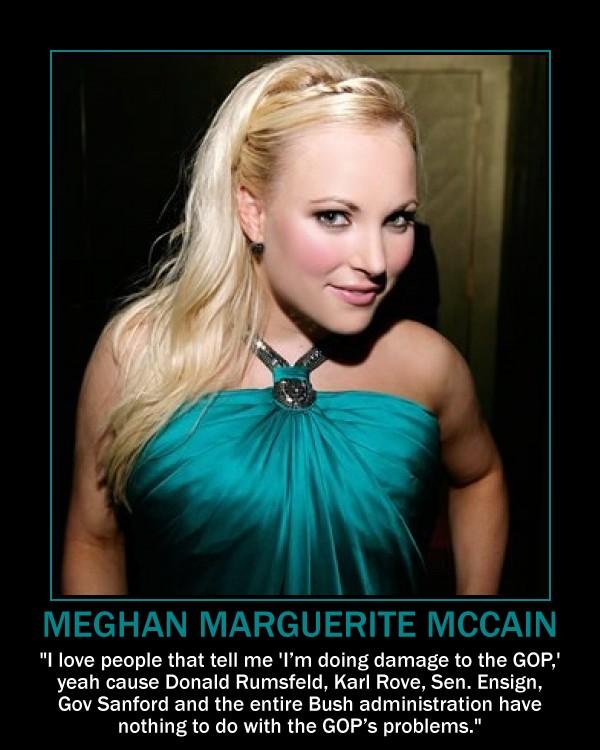 Meghan Mccain Now: Anybody Want To Buy Meghan McCain's Expired Domain?